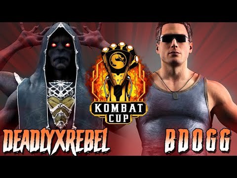 DEADLYXREBEL VS BDOGG (INSANE) - Kombat Cup: Road To LCQ Week 1 - MK11