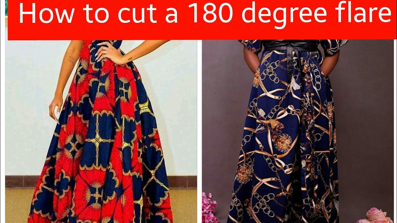 Download How to cut a 180 degree flare [peplum]