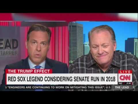 10/21/16 Curt Schilling destroys CNN PUPPET Jake Tapper