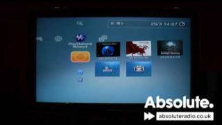 Listen to Absolute Radio on your PlayStation3