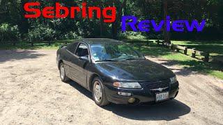 1998 Chrysler Sebring Coupe LX Review, Start Up, Test Drive!