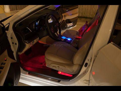 6th Gen Subaru Legacy Outback Footwell Illumination Kit Install