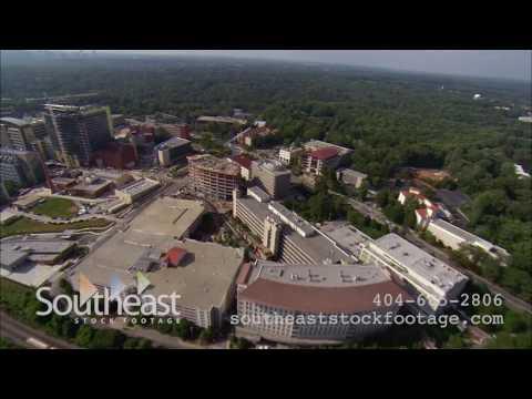 Aerials Emory Hospital HD