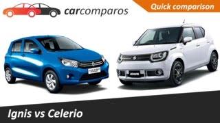 Ignis Vs Celerio Comparison Review