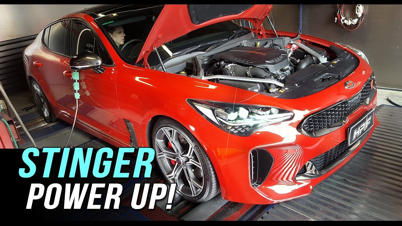 kia stinger custom dyno tuning youtube. Black Bedroom Furniture Sets. Home Design Ideas