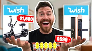 I Bought The MOST EXPENSIVE Items On Wish!!!