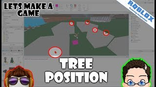 Roblox - Lets Make A Game - The Math Of Tree Placements (Simulated Trees)
