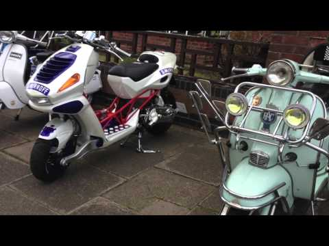 Skegness scooter rally 2016 ride out