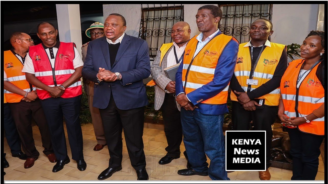 Uhuru Kenyatta reiterates to Kenyans to participate in census 2019 enumeration