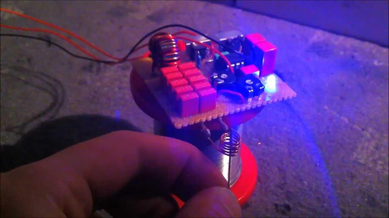 Mini Induction Heater 15v 10w Diy Test Run Youtube Simple Circuit