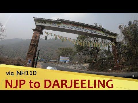 NJP (Siliguri) to DARJEELING via NH110 | West Bengal
