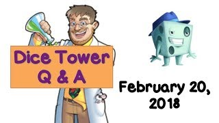 Live Q & A with Tom Vasel - February 20, 2018 thumbnail