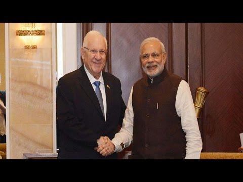 Joint statement by Prime Minister Narendra Modi, Israel President Reuven Rivlin