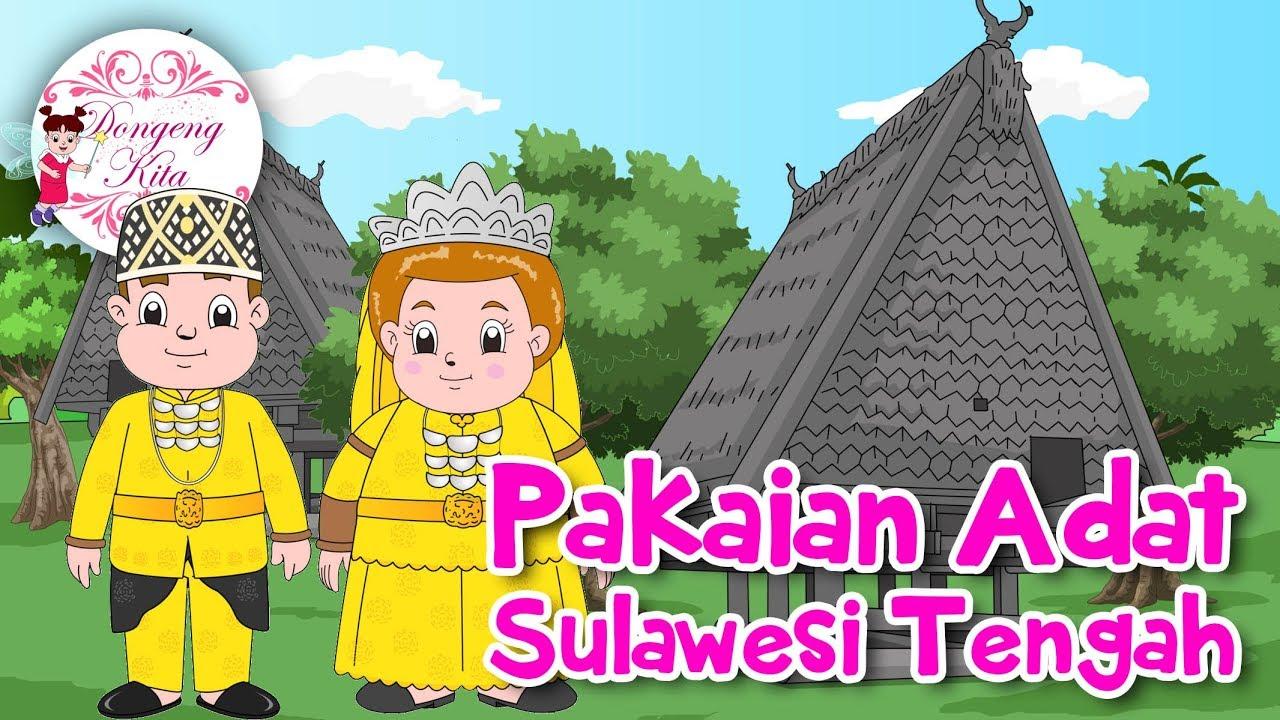 Kartun Pakaian Adat Sulawesi Selatan