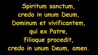 Credo In unum Deum - Base con testo - By R@F57