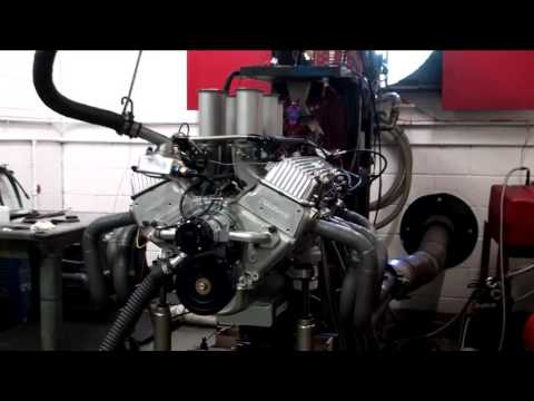 509 Big Block Chevy W Series Featuring Hilborn Fuel Injection