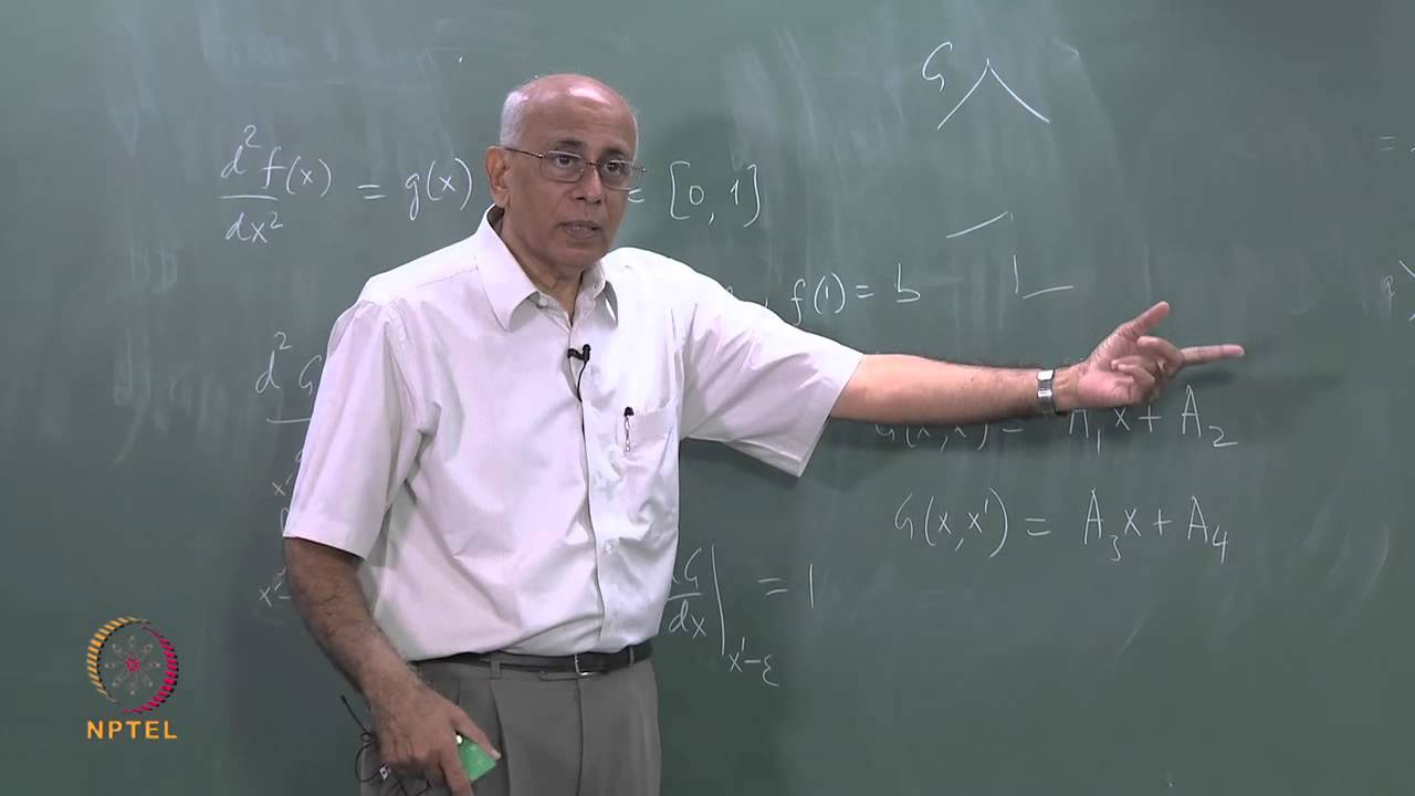 Mod-09 Lec-23 Fundamental Green function for Δ2(Part I)