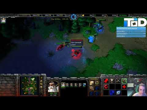 WarCraft III 1.30 - TGW - Facing Farseer/TC/Wyverns & pushing fast against it