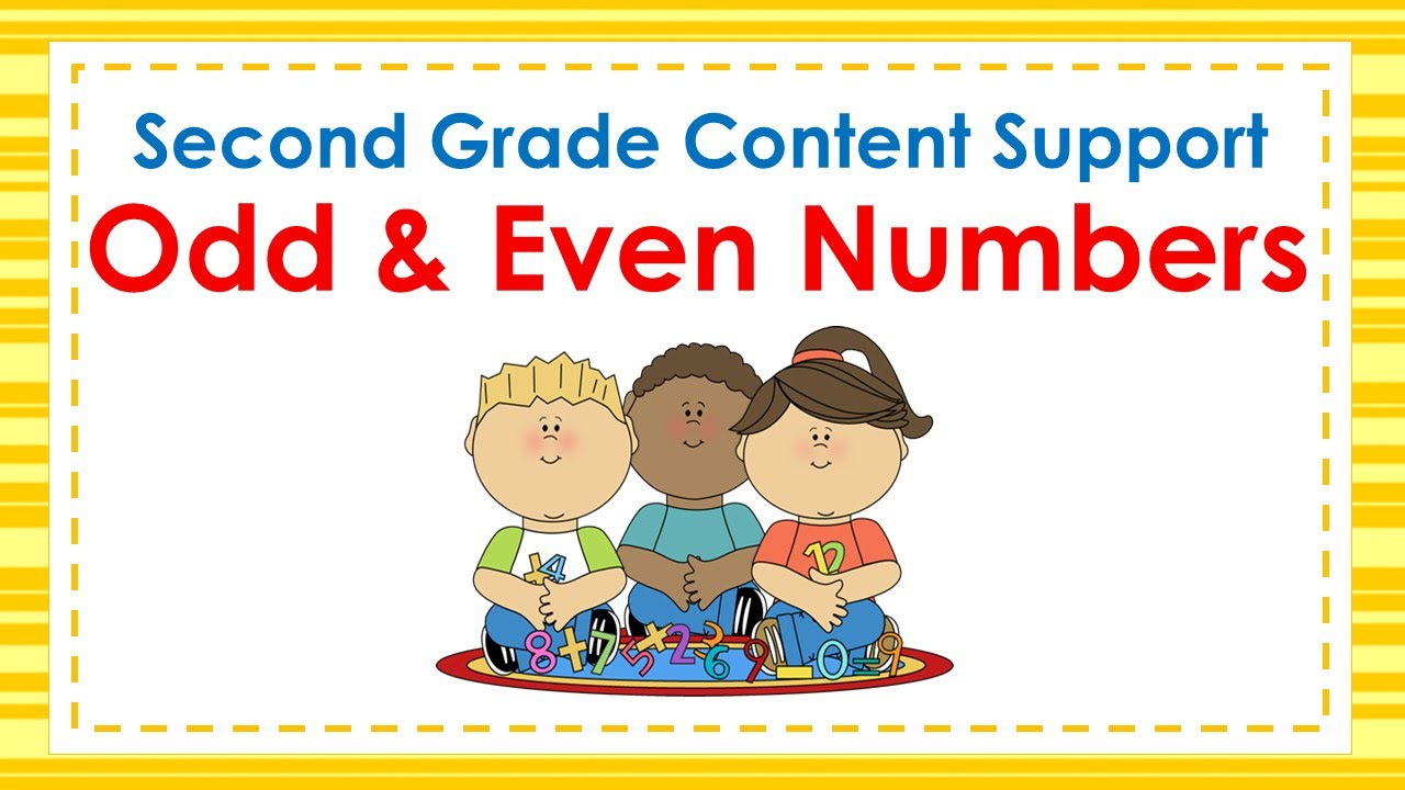 hight resolution of 2nd Grade Odd \u0026 Even Numbers - YouTube