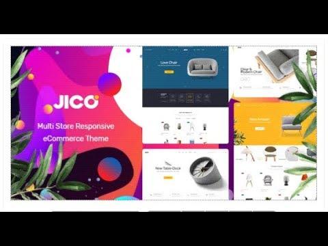 Jico - Furniture & Home Decor for WooCommerce WordPress   Themeforest Templates
