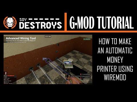Gmod|Wiremod Tutorials #4|Tripwire Trap by Joshalot