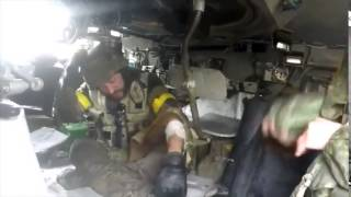 Саханка тяжелые бои Видео ВСУ ЛНР  ДНР  АТО  Ополченцы  Украина