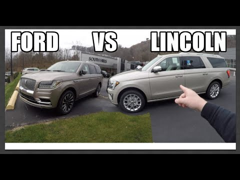 $80,000 Ford Expedition VS $80,000 Lincoln Navigator ? Which is better ?