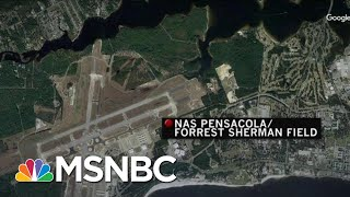 'It Was Chaos': Witness Describes Scene Outside Pensacola Naval Air Station | Velshi & Ruhle | MSNBC