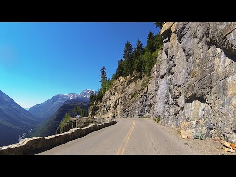 Amazing Going-to-the-Sun Road – Glacier National Park, Montana MT