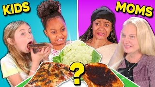 Can Kids Guess Their Mothers Cooking? | People Vs. Food (Prank)