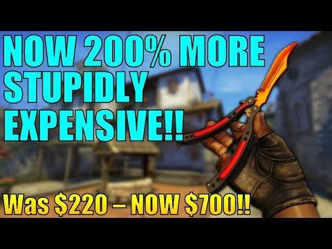 Why CSGO's Butterfly Knives TRIPLED IN PRICE Explained | TDM_Heyzeus