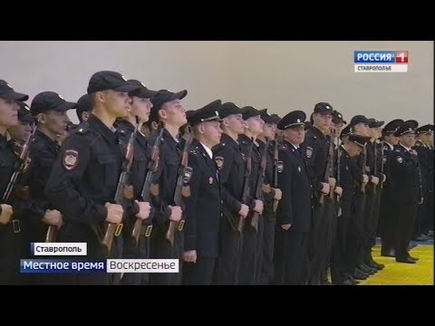 Погоны на девичьи плечи: курсанты полиции приняли присягу