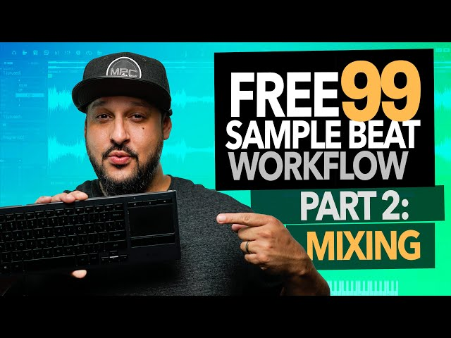 MPC Beats Tutorial | How to Make Beats for Free Pt. 2, Mixing in Reaper | Best Free DAWs