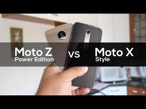 Moto Z vs Moto X Style | Comparativo Brasil