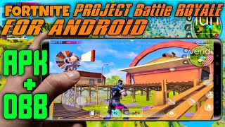 FORTNITE - PROJECT BATTLE ROYALE FOR ANDROID | Download project battle for android | Fortnite clone.