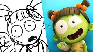 Spookiz Storyboard - I'm In Line!   스푸키즈   Kids Cartoons   Videos for Kids
