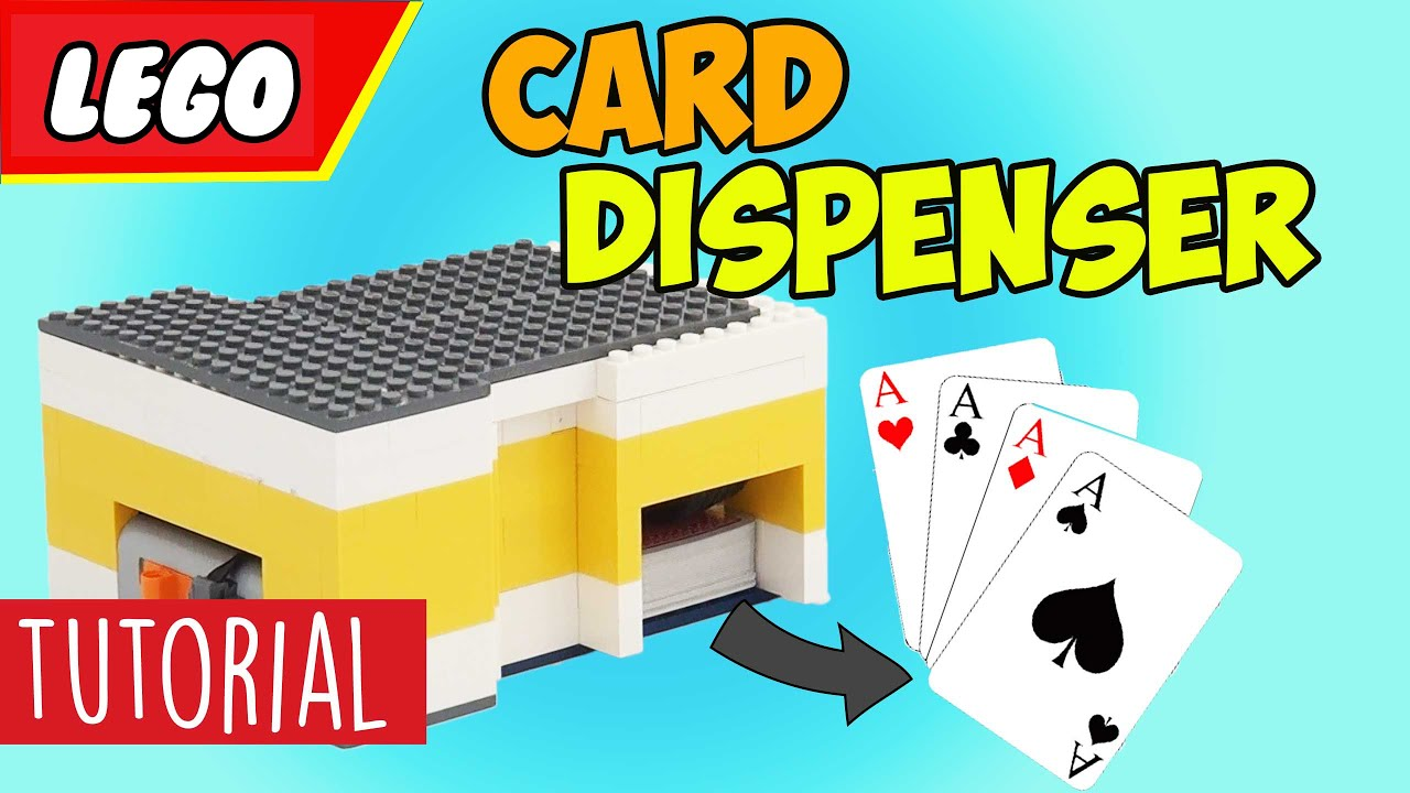 LEGO Card Dispenser Tutorial - YouTube