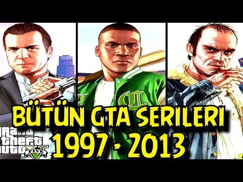 Gelmiş Geçmiş Bütün GTA Serileri | Grand Theft Auto Türkçe