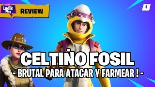 GUIA CELTYIC FOSSIL, BRUTAL TO FARMAND AND ATTACK! FORTNITE SAVE THE WORLD Spanish Gameplay