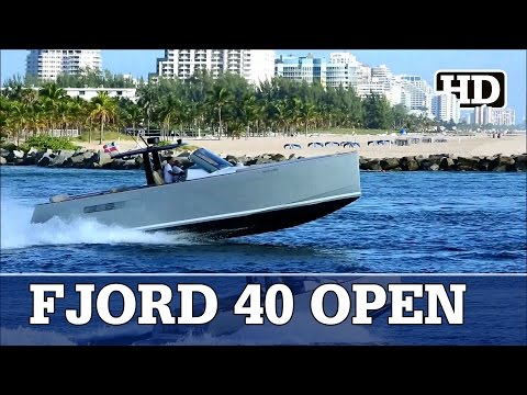 Fjord 40 Open | First Catch |  Running Out Of Fort Lauderdale