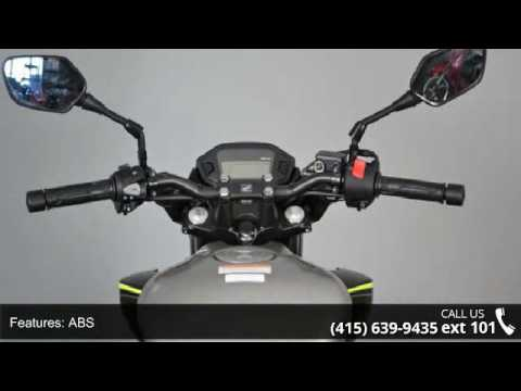 2017 Honda CB300F w/ ABS - SF Moto - San Francisco, CA 94103