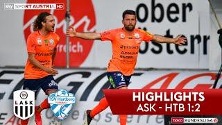 Tipico Bundesliga, 23. Runde: Lask - Tsv Hartberg 1:2