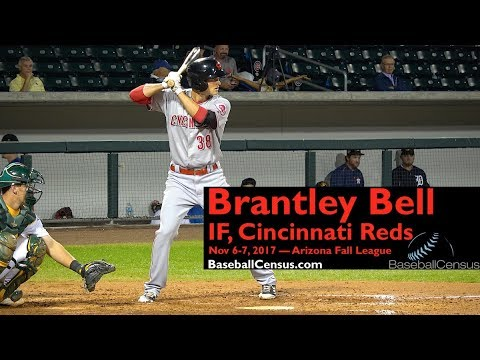 Brantley Bell, IF, Cincinnati Reds — November 6-7, 2017 (AFL)