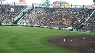2012年選抜準々決勝 対関東一戦.
