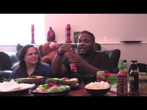 Vegan Pineapple Bowls/Spring Rolls **Mukbang** Eating Show