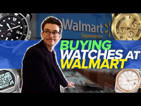 Watch Shopping At Walmart, Target, Kohl's And Macy's? (Watch Giveaway)
