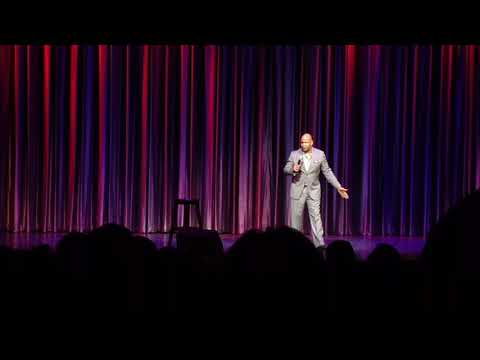 Rondell Sheridan comedy  on the Anthem of the Seas Bahamas Cruise