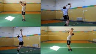 Волейбол. Обучающие видео. Как эффективно пасовать у сетки.