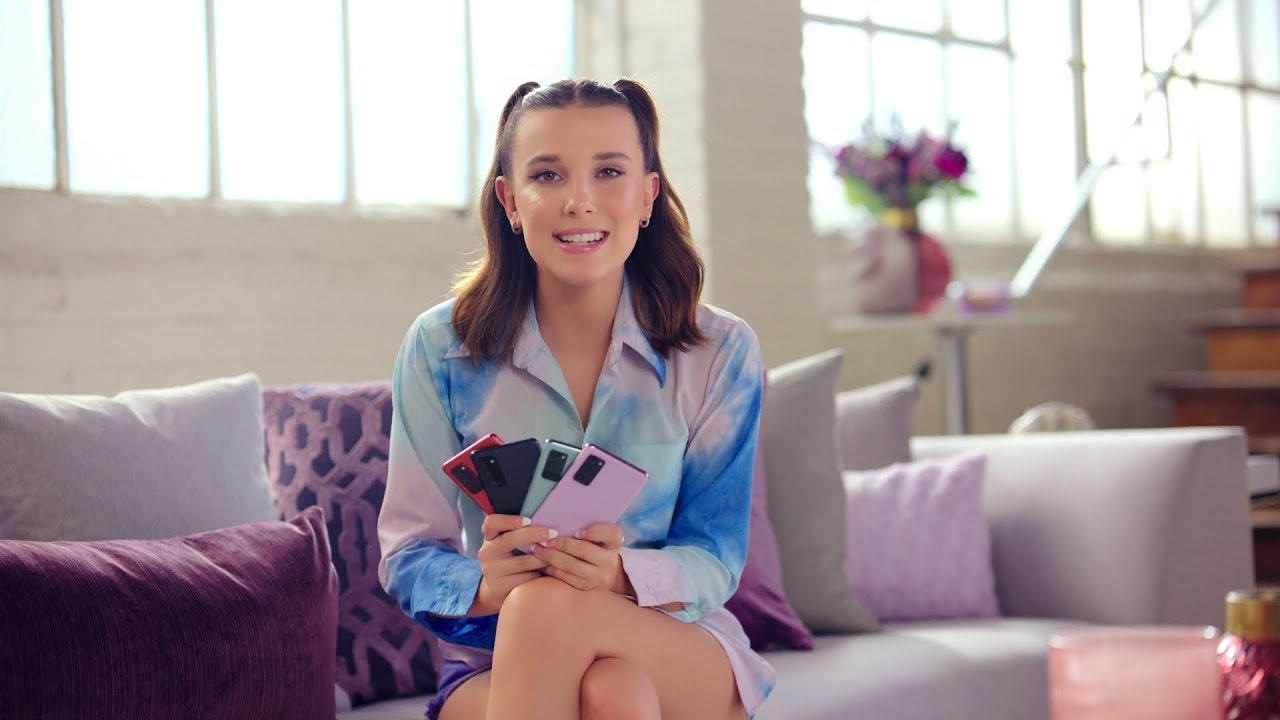 Millie Bobby Brown x Galaxy S20 FE: Senin Rengin Hangisi? | Samsung