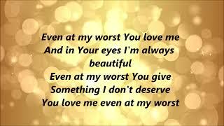Blanca - Even At My Worst (Lyrics)